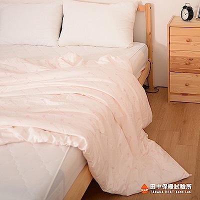 田中保暖試驗所  夏季 純手工天然長纖蠶絲被 1.8kg 6x7尺