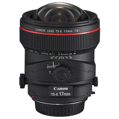 Canon TS-E 17mm F4 L  移軸鏡頭(公司貨)