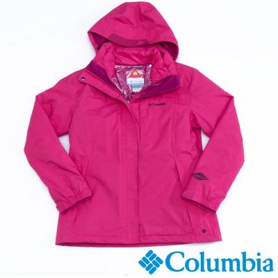 Columbia哥倫比亞  女款-羽絨兩件式外套-桃紅色 UPL70590FC