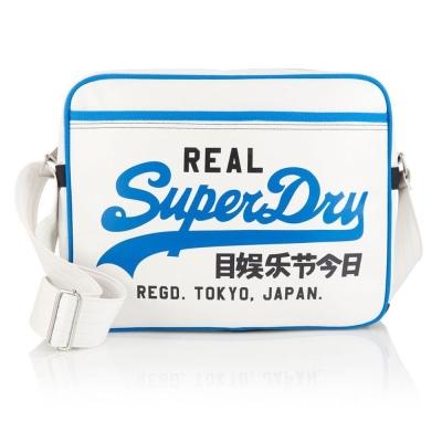 SUPERDRY 極度乾燥 斜/側背包 白色 395