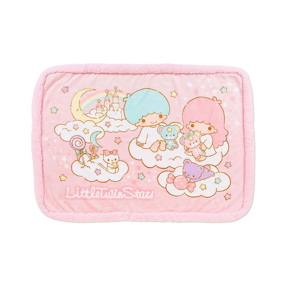 Sanrio 雙星仙子保暖絨毛毯(手作小熊)