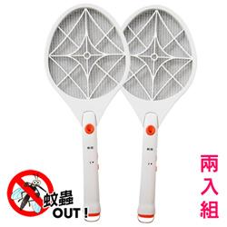 (2入組)勳風 小黑蚊剋星防觸電捕蚊拍電蚊拍(HF-936A)超亮LED燈泡