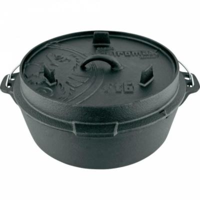 PETROMAX FT6-T DUTCH OVEN 鑄鐵荷蘭鍋<b>12</b>吋(平底)