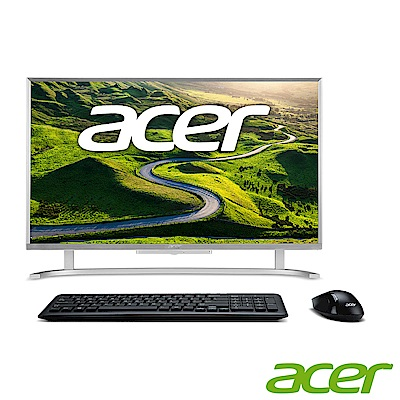 Acer C24-760 24型 i3 雙核行動AIO超纖薄液晶電腦(金色)
