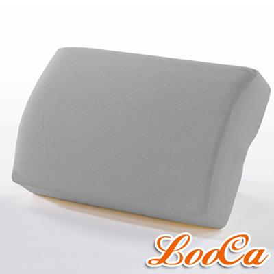 LooCa 吸濕排汗釋壓午安枕-灰