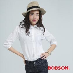 BOBSON  女款刺繡襯衫