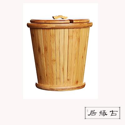 【古緣居】孟宗竹製茶水桶(一桶天下)