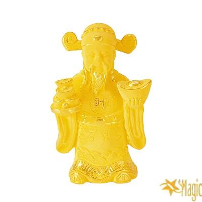 【Magic魔法金】財神( 1.8錢) 立體黃金