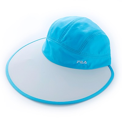 FILA 時尚遮陽帽-水藍 HTS-1103-LB