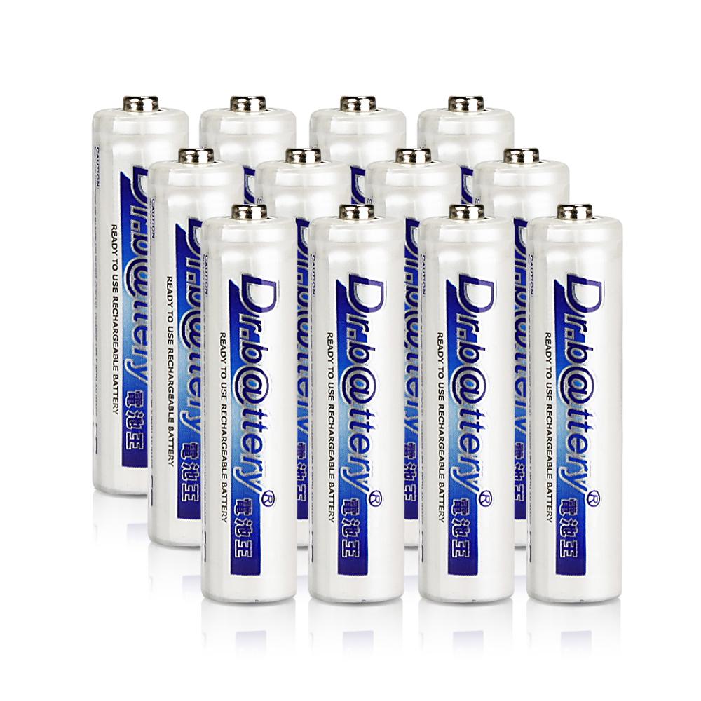 電池王 4號低自放電900mAh充電電池( 12入)
