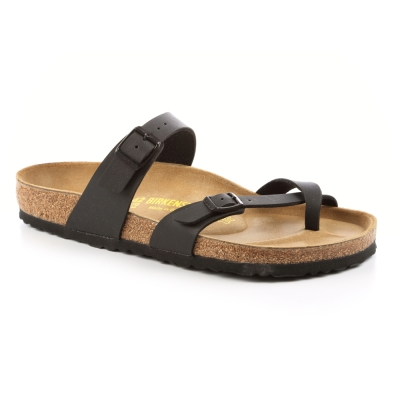 勃肯BIRKENSTOCK 071791。馬亞里 夾腳拖鞋(黑)