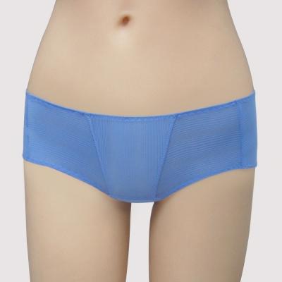 瑪登瑪朵-Soft Life涼感  低腰平口萊克褲(清雅藍)
