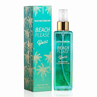 WOMEN SECRET BEACH PLEASE Oasis夏日清新身體噴霧250ml