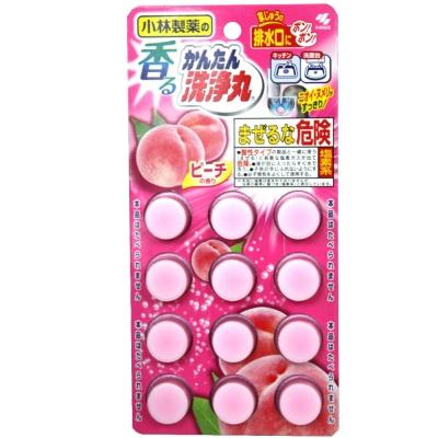 小林製藥 排水口洗淨丸-水蜜桃香(66g)