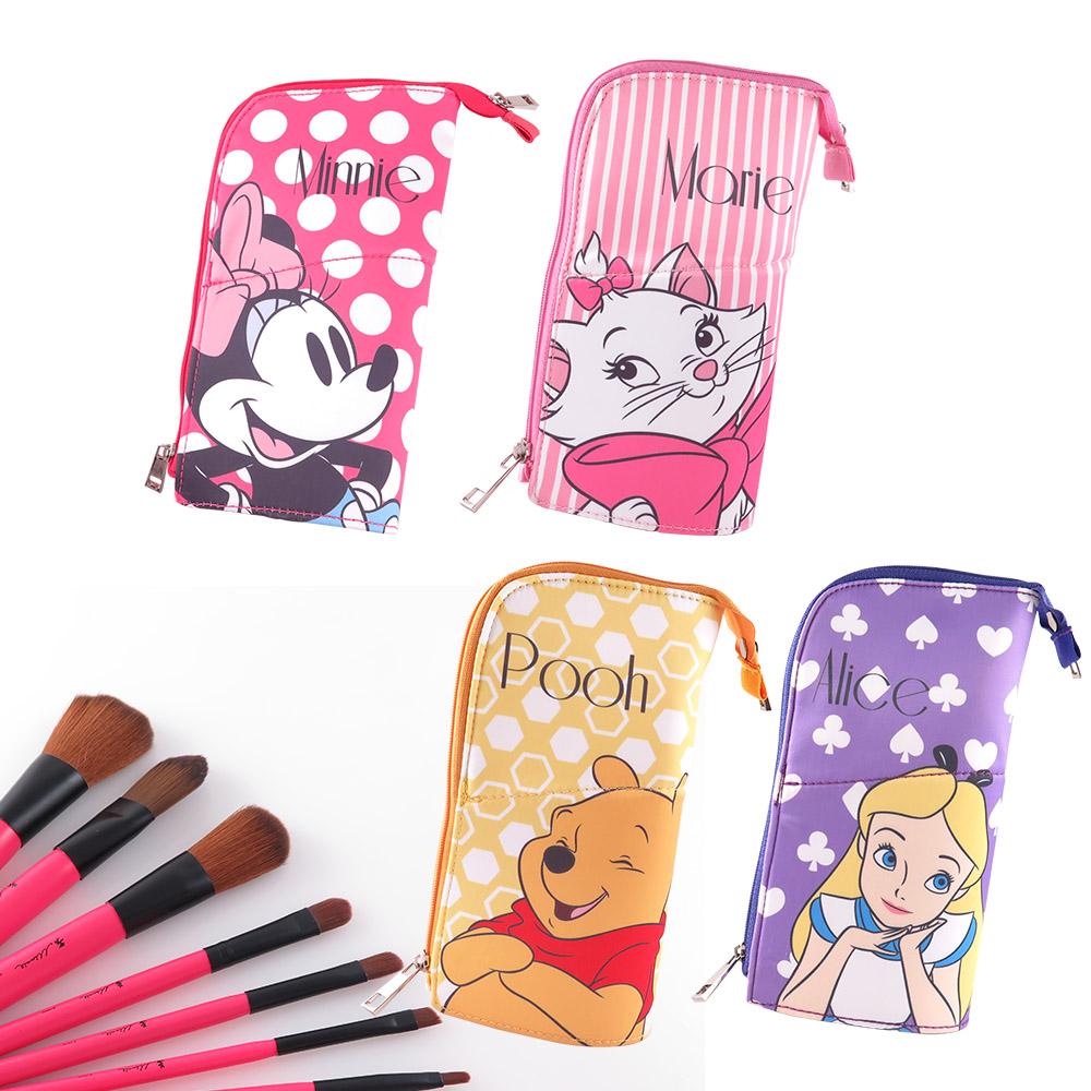 Disney迪士尼可立型筆袋刷具組