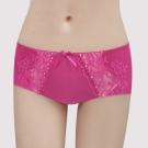 瑪登瑪朵-無敵美G  低腰平口無痕內褲(莓果粉)