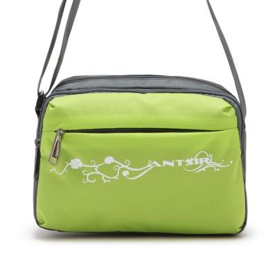 DF-BAGSCHOOL-輕質量戶外休閒側背包-綠