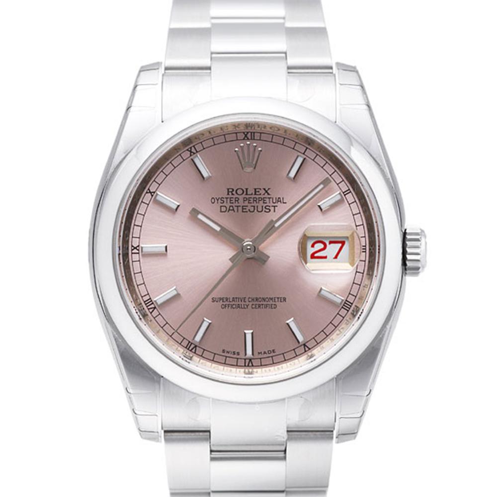 ROLEX 勞力士 Datejust 116200 蠔式日誌型機械錶-香檳色/36mm