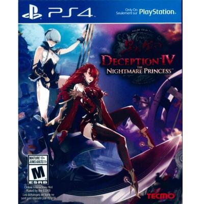 影牢 惡夢公主 (另一名公主) DECEPTION IV-PS4英日文美版