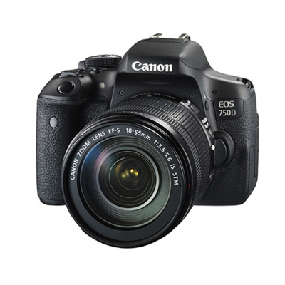 CANON EOS 750D+18-55mm IS STM 單鏡組*(平輸中文)