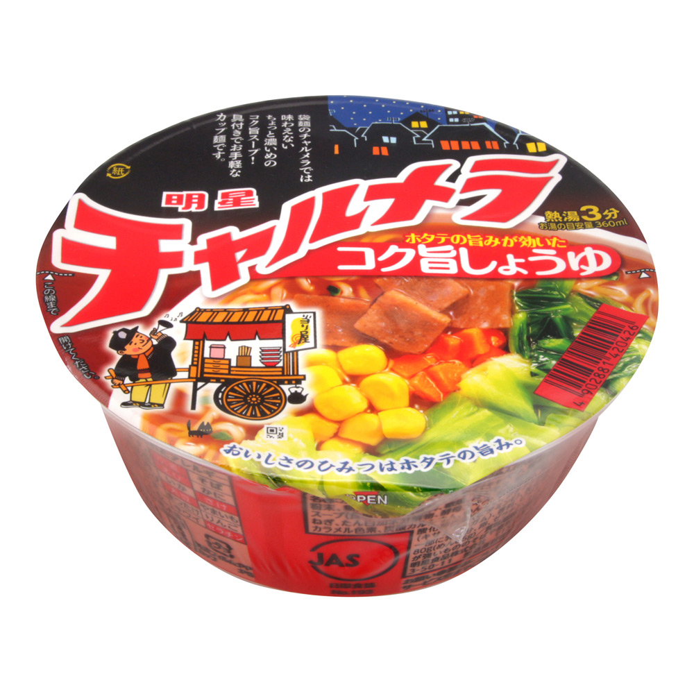 明星食品 夜台碗麵-醬油(80g)