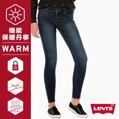 鉛筆褲 710 中腰超緊身窄管 Warm Jeans保暖機能丹寧 - Levis