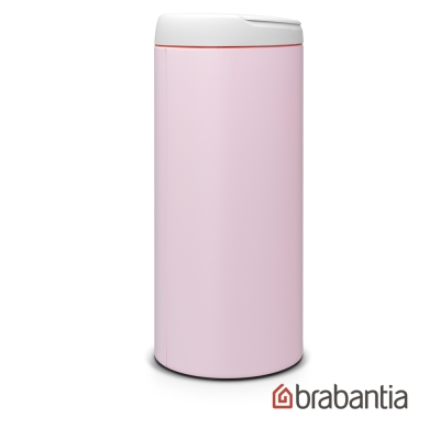 Brabantia 新掀式垃圾桶-30L奶油粉
