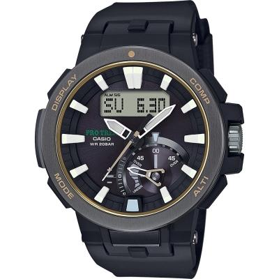 CASIO 卡西歐 PRO TREK 專業戶外太陽能電波手錶/58.7mm