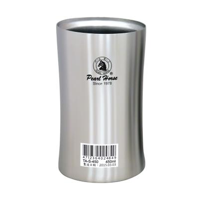 日本寶馬450ml不鏽鋼真空保溫健康杯 TA-S-450