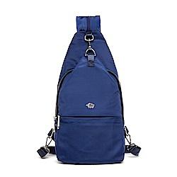 DRAKA 達卡 - 輕量防潑水單肩後背斜背胸包-藍