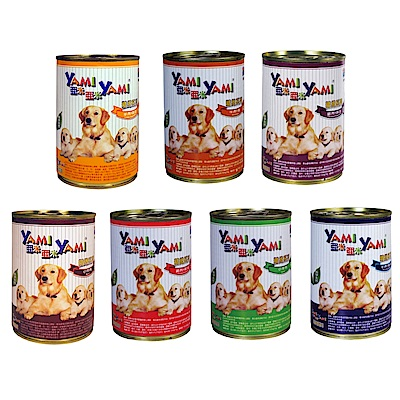 亞米YAMI 犬用罐頭 400g