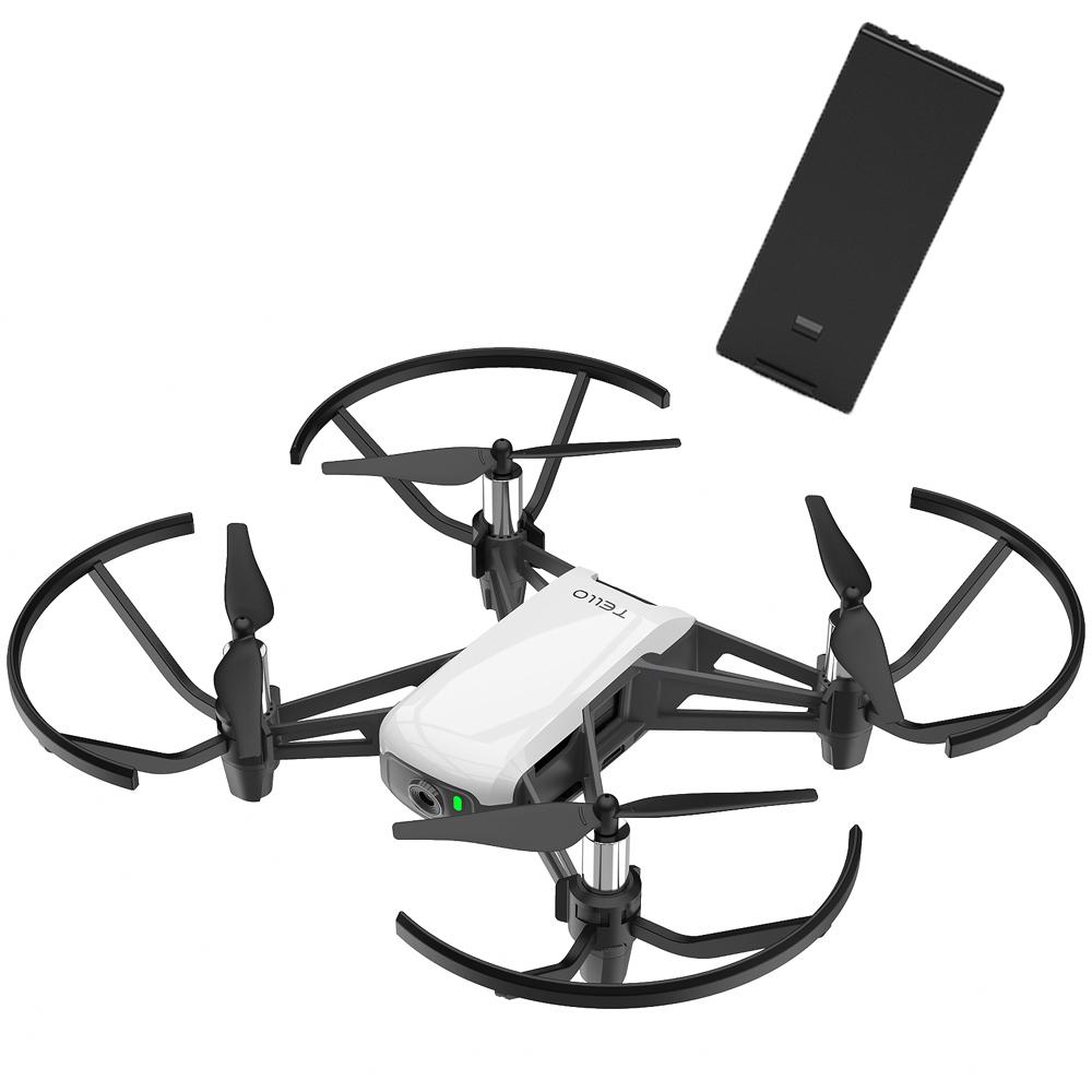 (雙電池組) Ryze 睿熾 特洛Tello空拍機+飛行電池(飛隼貨)+基礎飛行課程