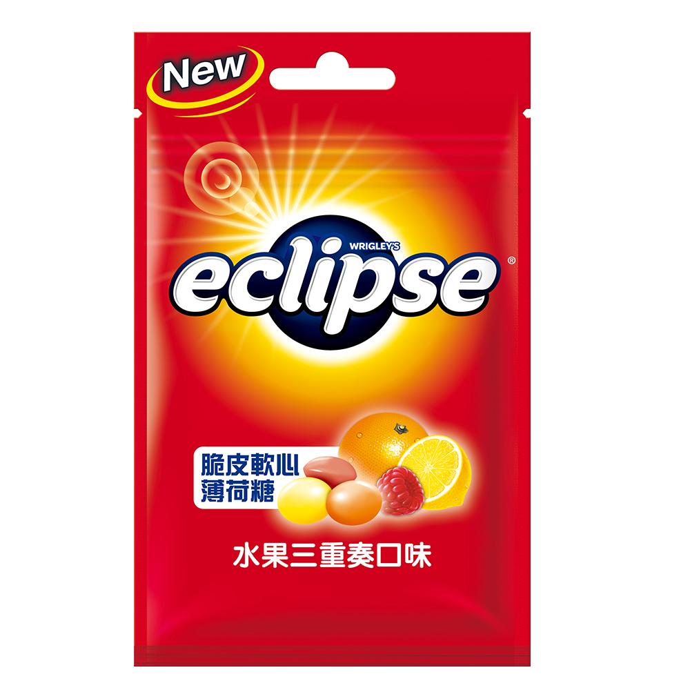 Eclipse易口舒 脆皮軟心糖-水果三重奏(60g)
