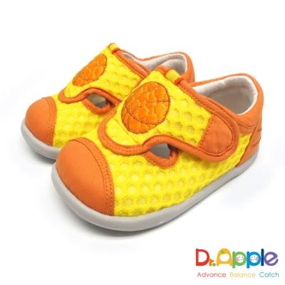 Dr. Apple 機能童鞋 一起玩吧!熱血籃球休閒小童涼鞋款 黃