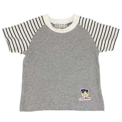 愛的世界 MYBEAR 夏令營純棉圓領休閒T恤/4~6歲