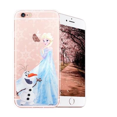 冰雪奇緣展場限定版 iPhone 6s Plus 空壓殼(艾莎雪寶)