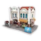 世界之窗 3D立體拼圖 台灣-南屯老街 3D World Style