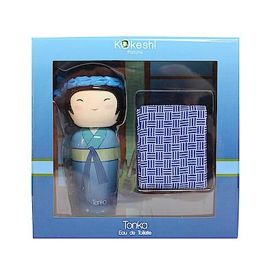 (即期品)Kokeshi Tonka元氣娃娃中性淡香水禮盒