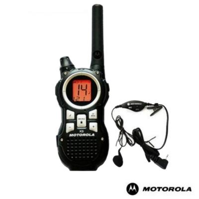 Motorola 摩托羅拉 免執照無線電對講機 TLKR K9 單支簡配組