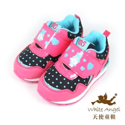 天使童鞋-50030 可愛休閒運動鞋 (小童)-可愛桃