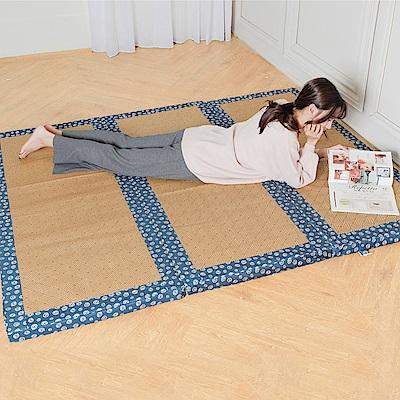 凱蕾絲帝-台灣製造-冬夏兩用臻愛沁涼紙纖高支撐三折單人加大記憶聚合床墊-3.5尺