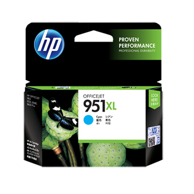 HP 951XL 原廠藍色墨水匣 (CN046AA)