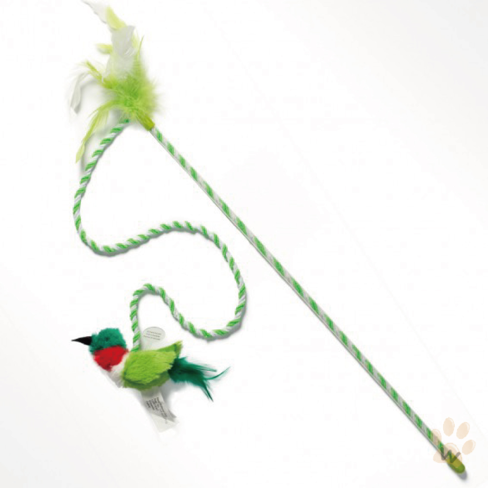 Play-N-Squeak狂野森林 奇異鳥系列貓草音效魔仗 [蜂鳥]