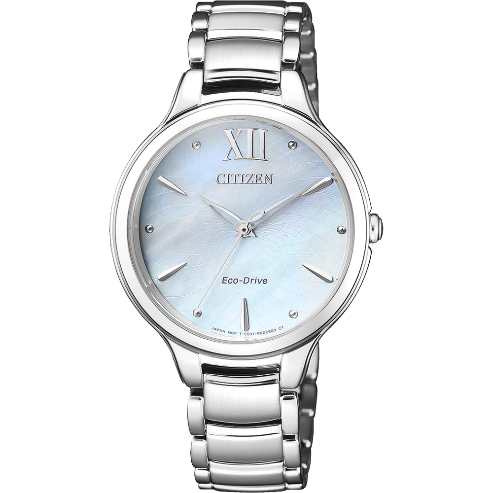 CITIZEN L系列 星海點點光動能時尚腕錶-EM0550-83N-32mm