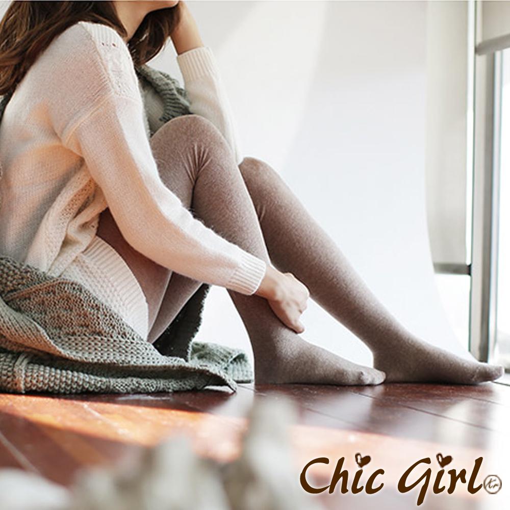 Chic Girl 超保暖厚棉彈性多彩褲襪 (共七色)
