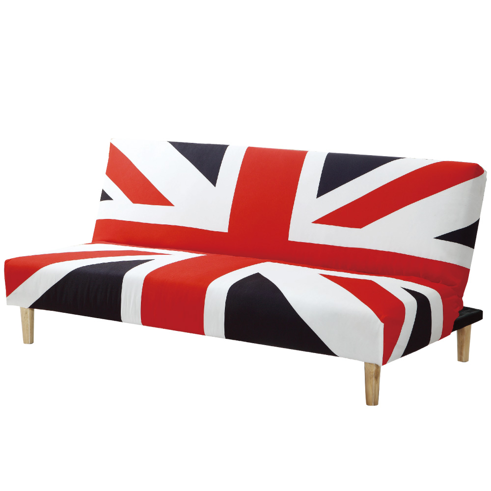 品家居 芭蘿棉麻布展開式沙發床-180x85x78cm-免組