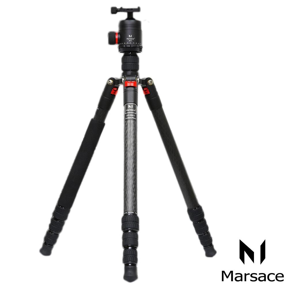 Marsace瑪瑟士 DT-3541T碳纖維專業三腳架套組(公司貨)
