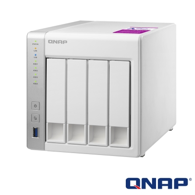 QNAP TS-431P2-1G 網路儲存+WD 2TB*4顆