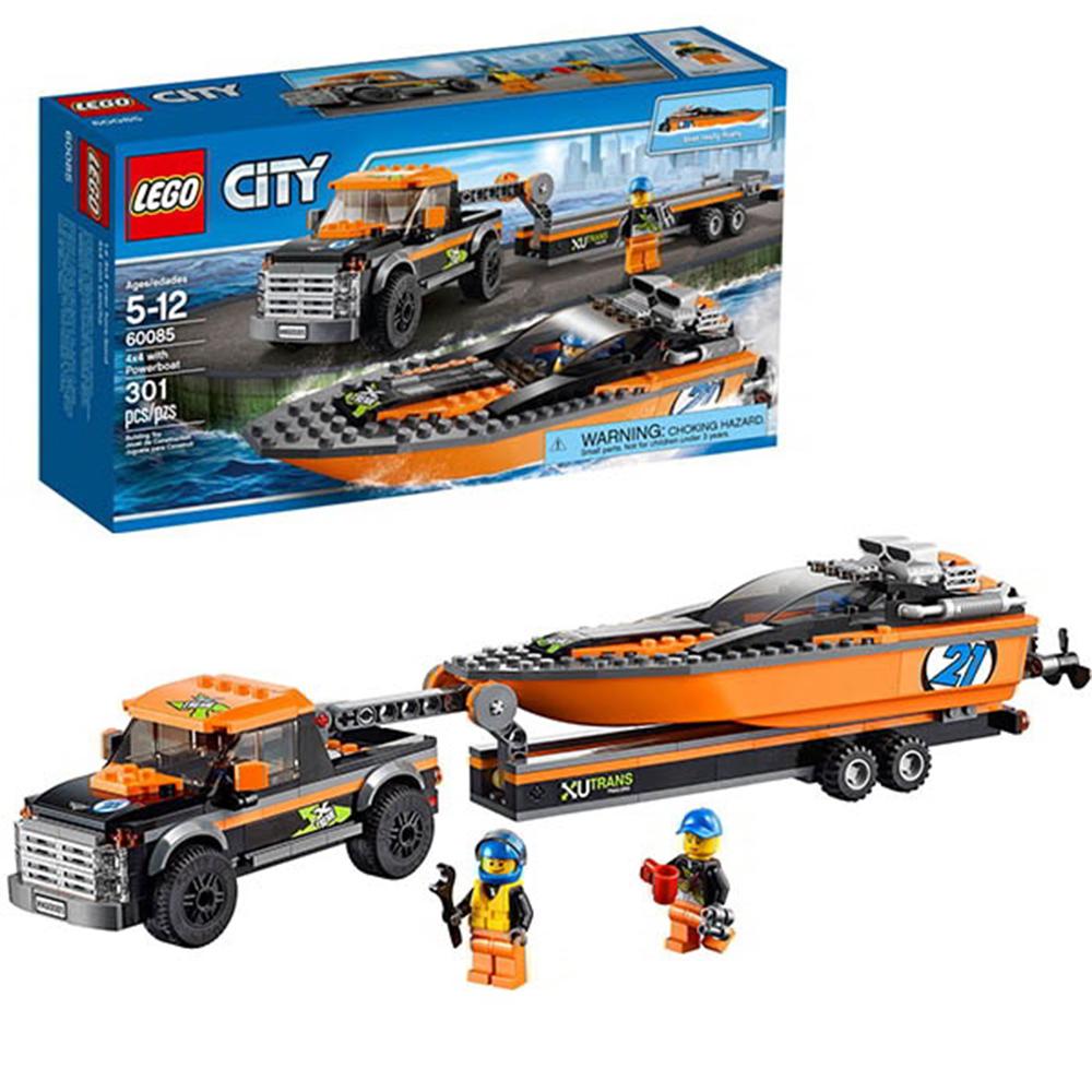 LEGO樂高 城市系列60085 4x4汽艇