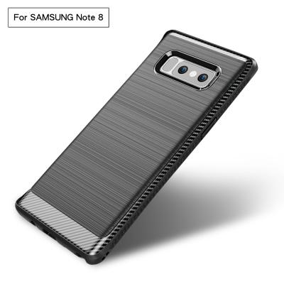 Samsung Galaxy Note 8 拉絲紋吸震防摔手機殼